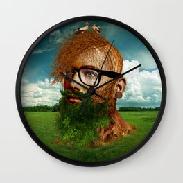 Eco Hipster Wall Clock