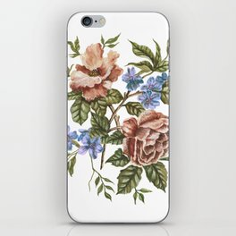 Rustic Florals iPhone Skin