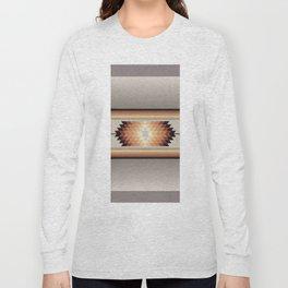 American Native Pattern No. 140 Long Sleeve T-shirt