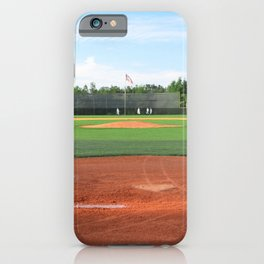 Play Ball! - Home Plate - For Bar or Bedroom iPhone Case