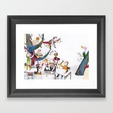 the classroom Framed Art Print
