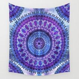 Hydrangea Mandala Wall Tapestry