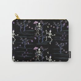skeleton party Carry-All Pouch