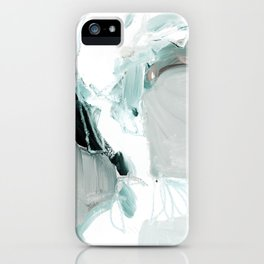 abstract painting XX iPhone Case