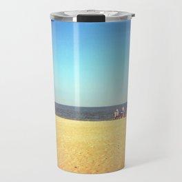 Three on the beach Travel Mug