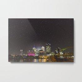 Goodnight Pittsburgh Metal Print