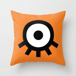 A Clockwork Throw Pillow