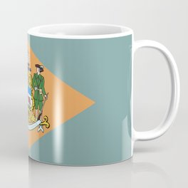 Delaware State Flag Coffee Mug
