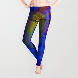 Vulture Escaping From Hell Leggings
