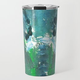 Abstract Elephant Travel Mug