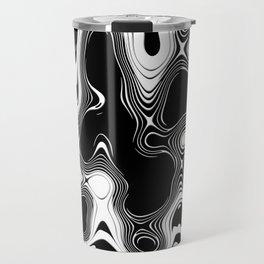 Abstract Pseudo Arteries Travel Mug
