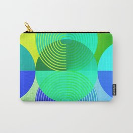 COCKTAIL Minimal Modern Geometric Carry-All Pouch