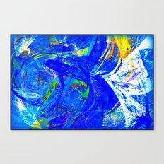 Splash of Paint Canvas Print