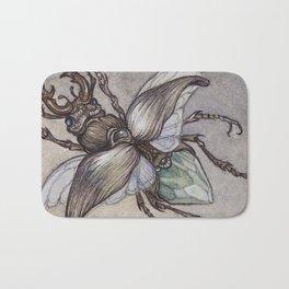 Crystal Beetle Bath Mat