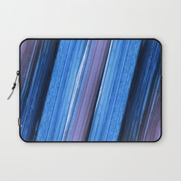 Amethyst Blue Geode Abstract Laptop Sleeve