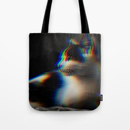 Kitten in colour Tote Bag
