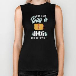 Shop for Bags | Don't Cry Buy a Bag and Get Over It Biker Tank