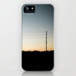 Interstate-5 II iPhone Case