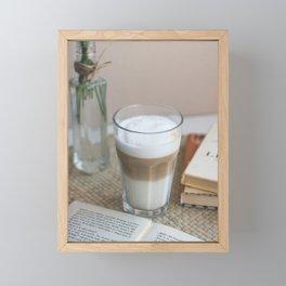 Macchiato Framed Mini Art Print