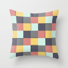 Pure Vintage palette  Throw Pillow