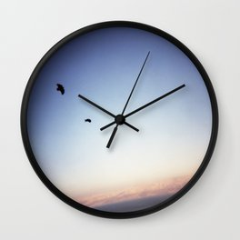 Huginn and Muninn Wall Clock
