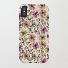 Painted Floral iPhone Case