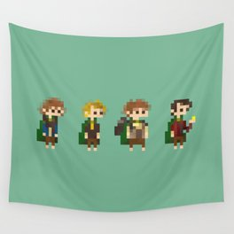 Frodo, Sam, Pippin and merry Wall Tapestry