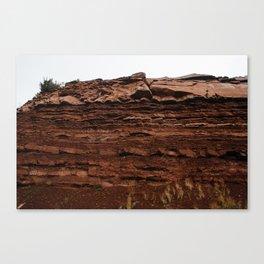 Colorado Mountain Texture v4 Canvas Print