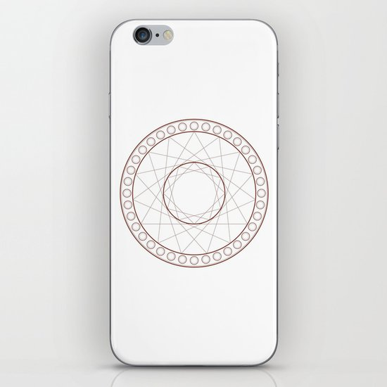 Anime Magic Circle 17 iPhone Skin