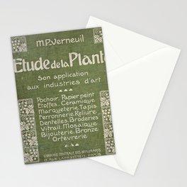 Maurice Pillard Verneuil - Étude de la plante (1903): Cover Page Stationery Cards
