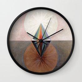 Hilma af Klint Group IX/SUW The Swan No. 12 Wall Clock