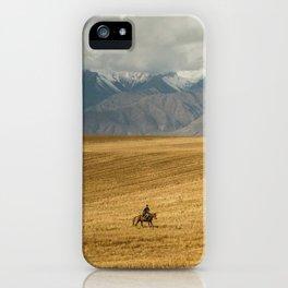 Kyrgyzstan iPhone Case