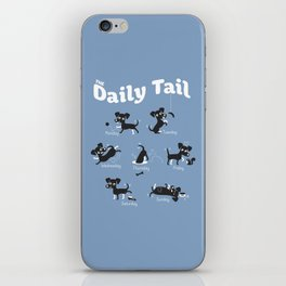The Daily Tail Dog iPhone Skin