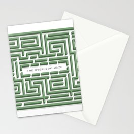 The Overlook Maze Stationery Cards