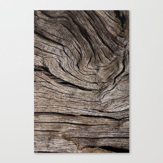 Wood VII Canvas Print