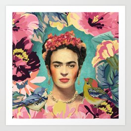 Frida Kahlo V Art Print