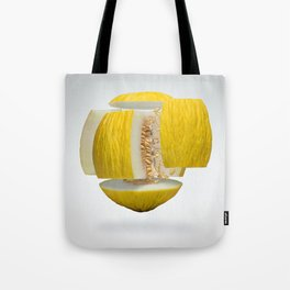 Flying Casaba Melon Tote Bag