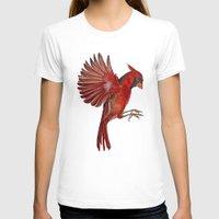 cardinal T-shirts featuring Cardinal by Jody Edwards Art
