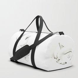 Snuggle Cat Duffle Bag