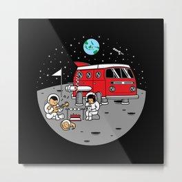 Combistronaut Metal Print