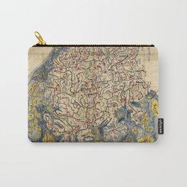 Chŏlla-namdo & Chŏlla-pukto Chŏndo, Korea Map (c 1800) Carry-All Pouch