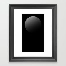 Minimal Geo 02 Framed Art Print
