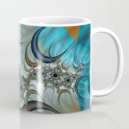 Snow Moons Fractal Coffee Mug