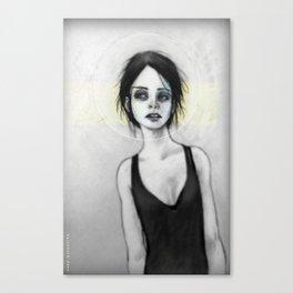 Beginning (the Girl o1) Canvas Print