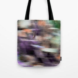 Fast in Flight - A Colorful Abstract Motion Blur Tote Bag