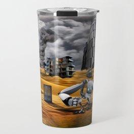 Catastrophic world Travel Mug
