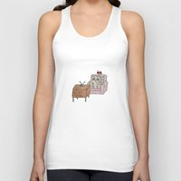 movies Tank Tops featuring Sad Movies by wemma