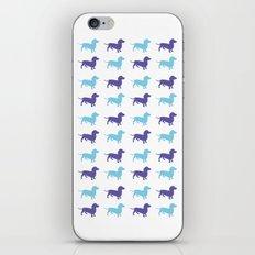 Sausage Dog Pattern iPhone & iPod Skin