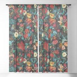 Exotic Garden II Sheer Curtain