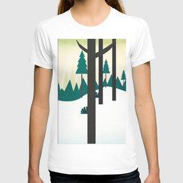 Beautiful scenery T-shirt